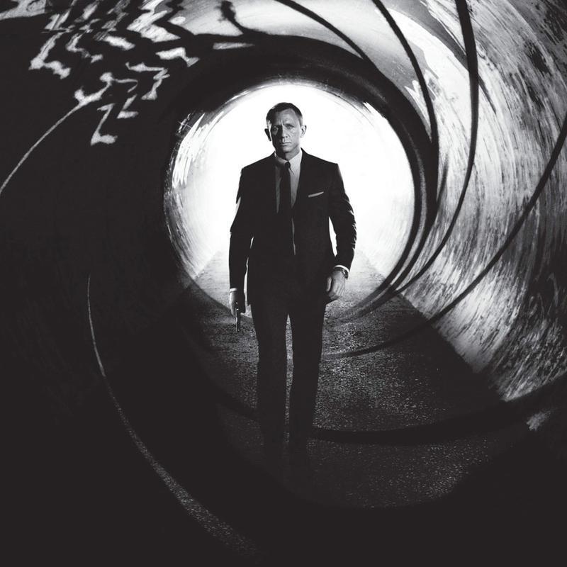 Daniel Craig in 'Skyfall' Acrylic Print