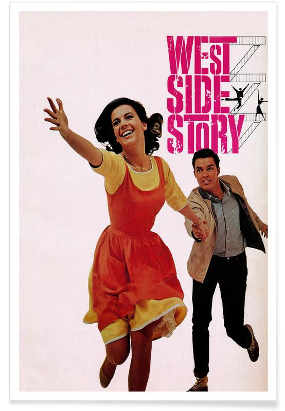 'West Side Story'-Retro-Film -Poster