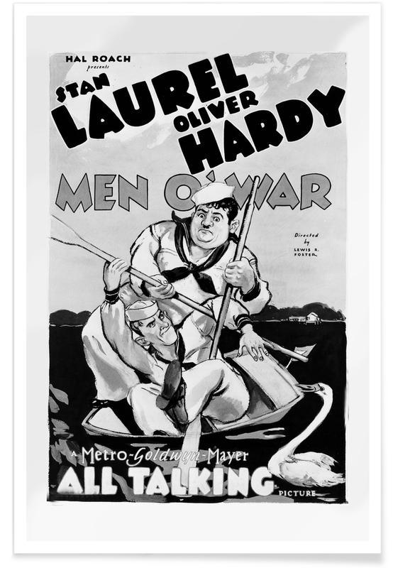 Men O War Retro Movie Poster Juniqe