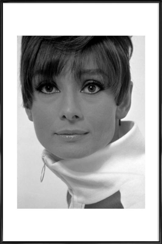 Audrey Hepburn, 1966 Framed Poster