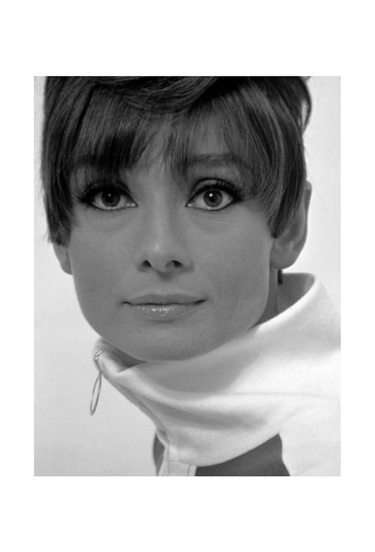 Audrey Hepburn, 1966 Acrylic Print
