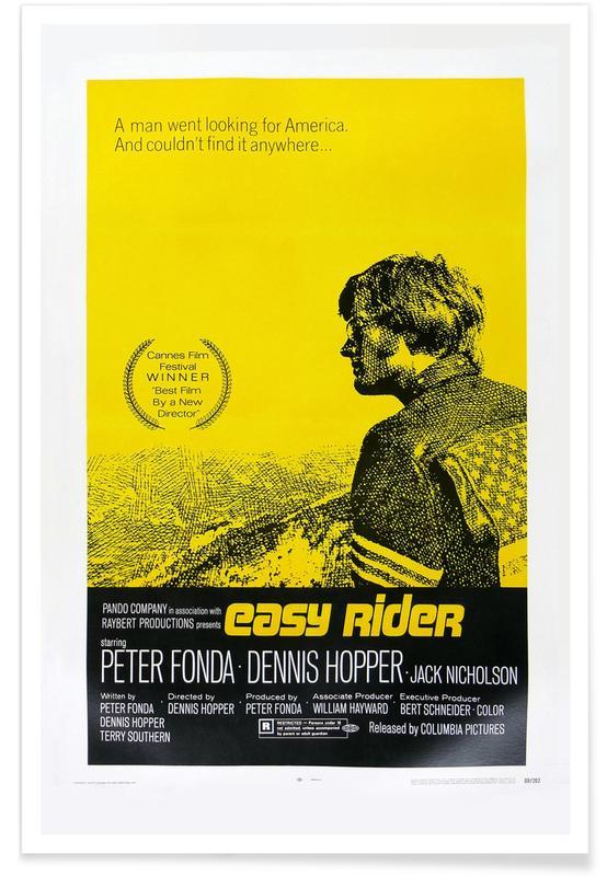 'Easy Rider' Retro Movie Poster