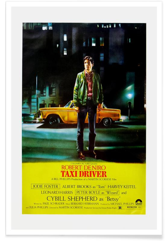 'Taxi Driver' Retro Movie Poster