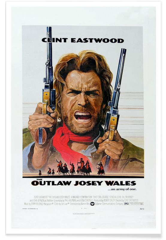 'The Outlaw Josey Wales' Retro Movie Poster