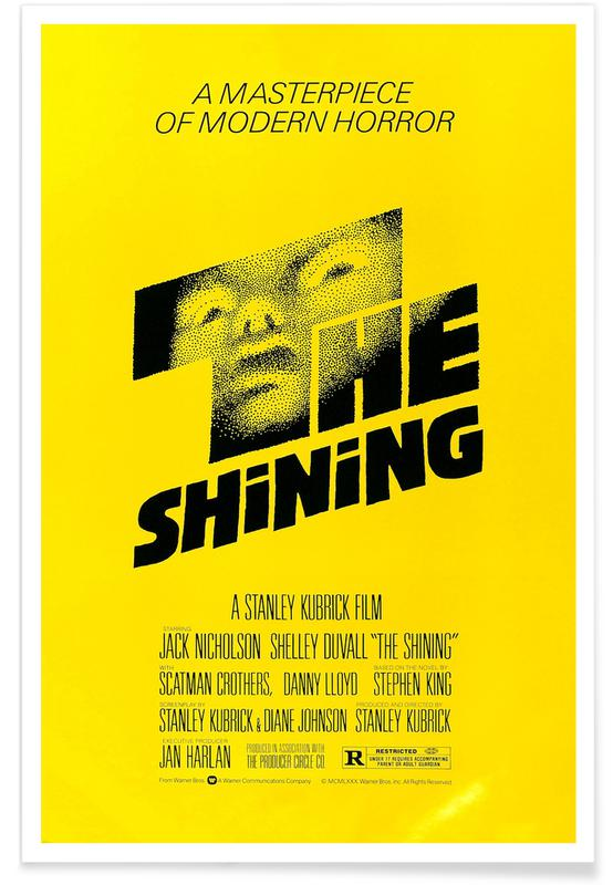 Films, 'The Shining' - retro film poster