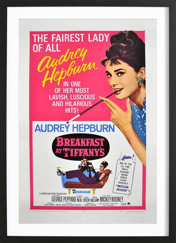 'Breakfast at Tiffany's' Movie Poster Framed Print