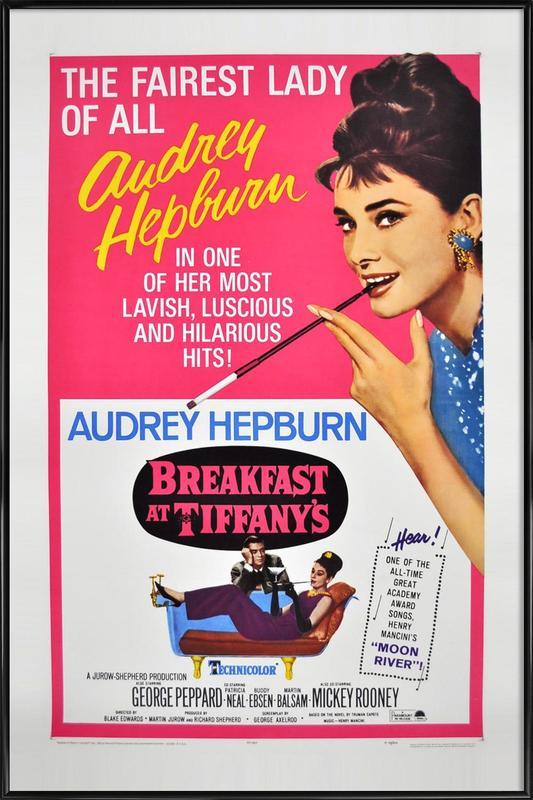 'Breakfast at Tiffany's' Movie Poster Framed Poster