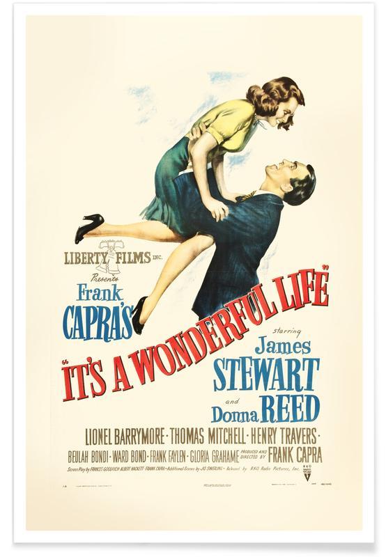 Films, La vie est belle - Film rétro affiche