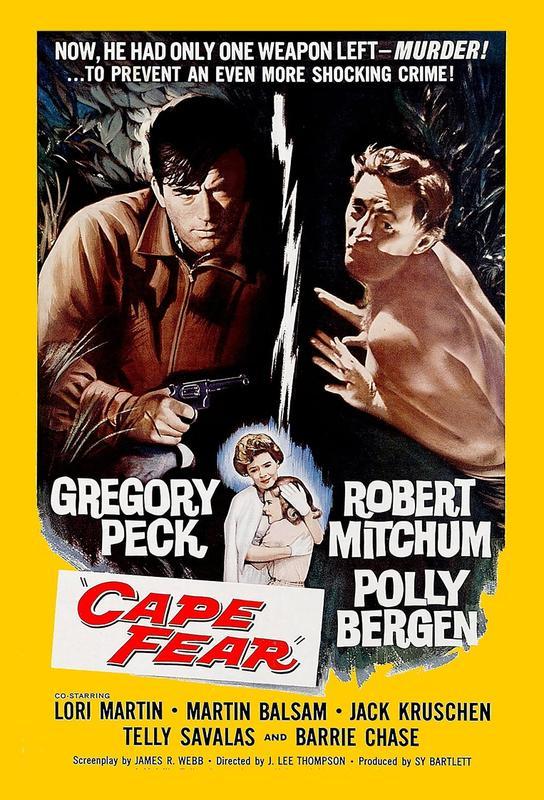 'Cape Fear' Retro Movie Poster Acrylic Print