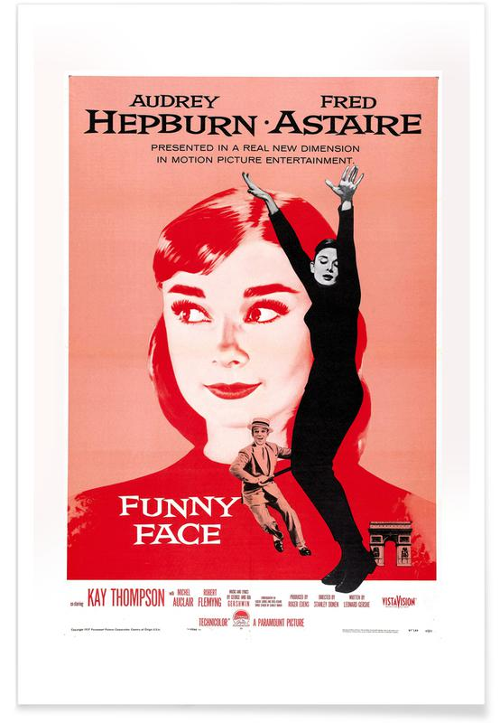 'Funny Face' - retro film poster