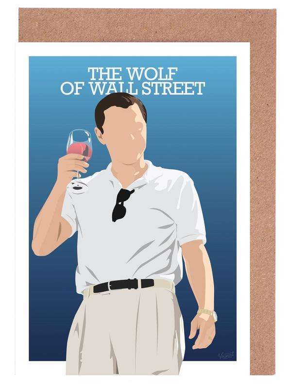 Films, Wolf of Wall Street cartes de vœux