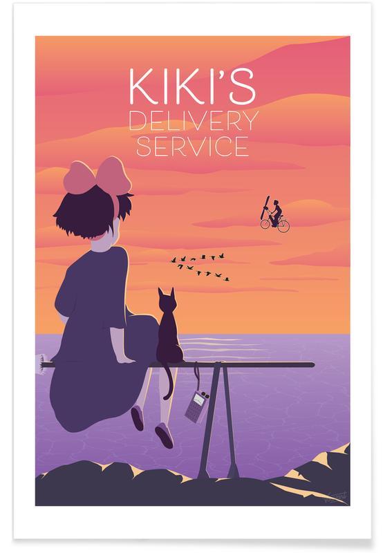 Filme, Kiki's Delivery Service -Poster