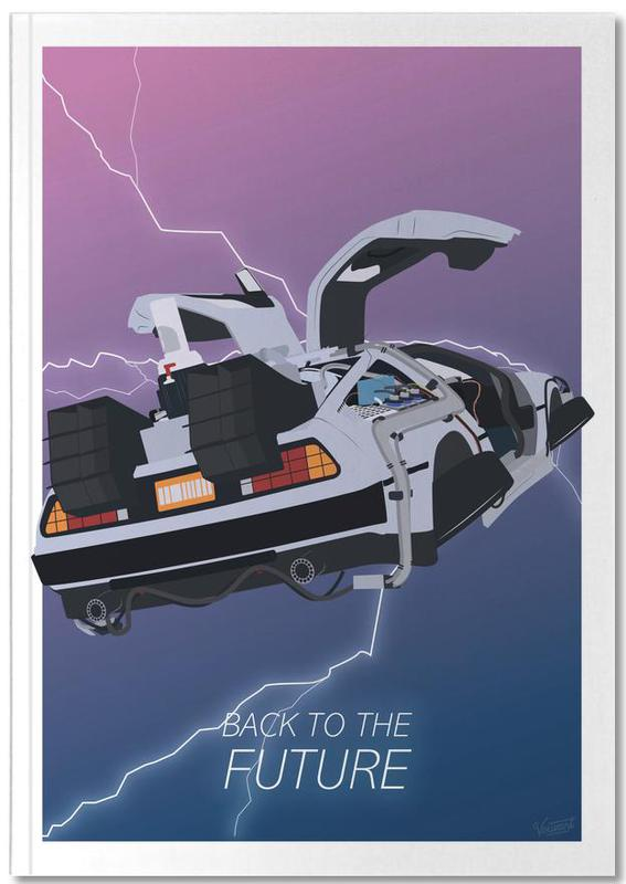 Back To The Future Notebook