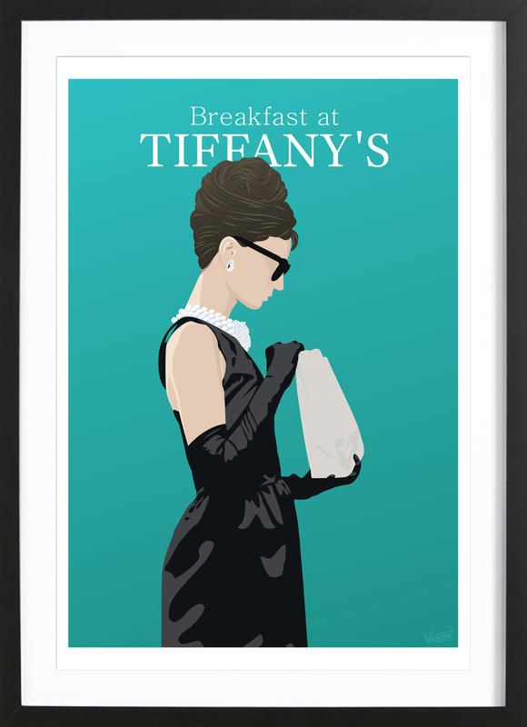 Breakfast at Tiffany's ingelijste print
