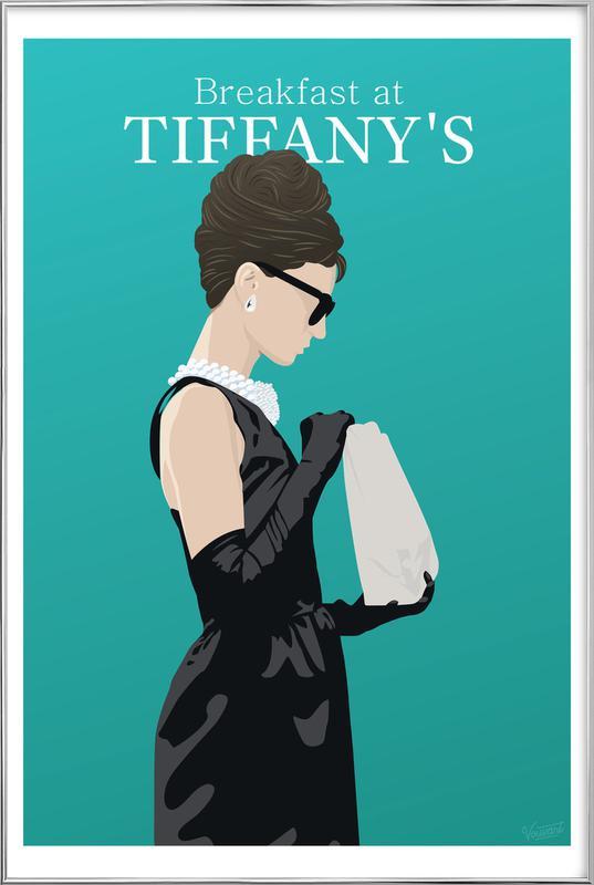 Breakfast at Tiffany's -Poster im Alurahmen