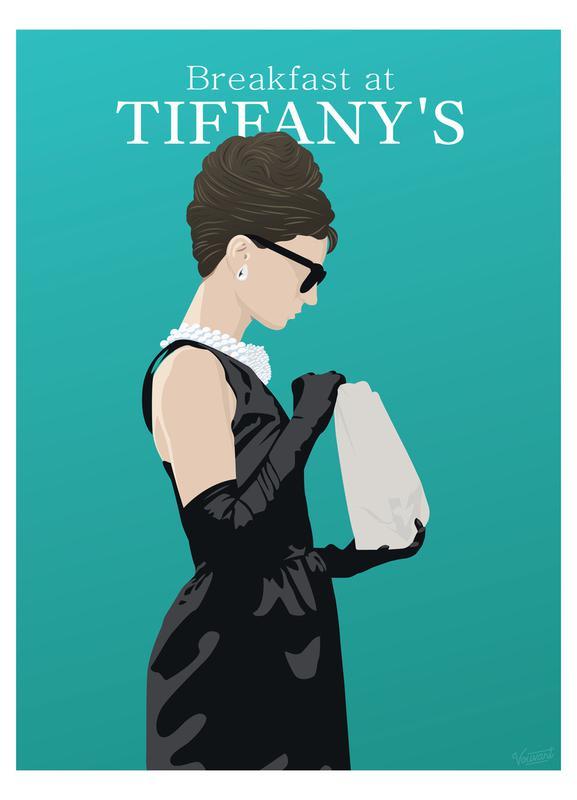 Breakfast at Tiffany's canvas doek