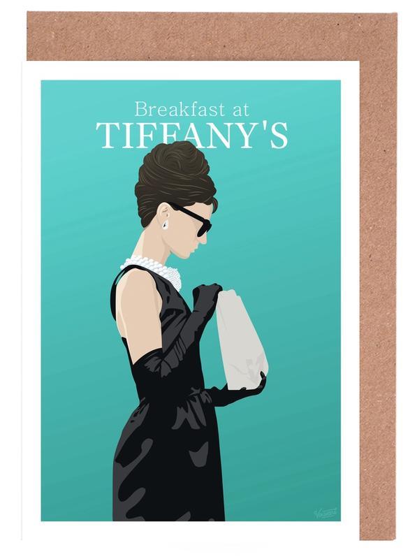 Breakfast at Tiffany's Greeting Card Set