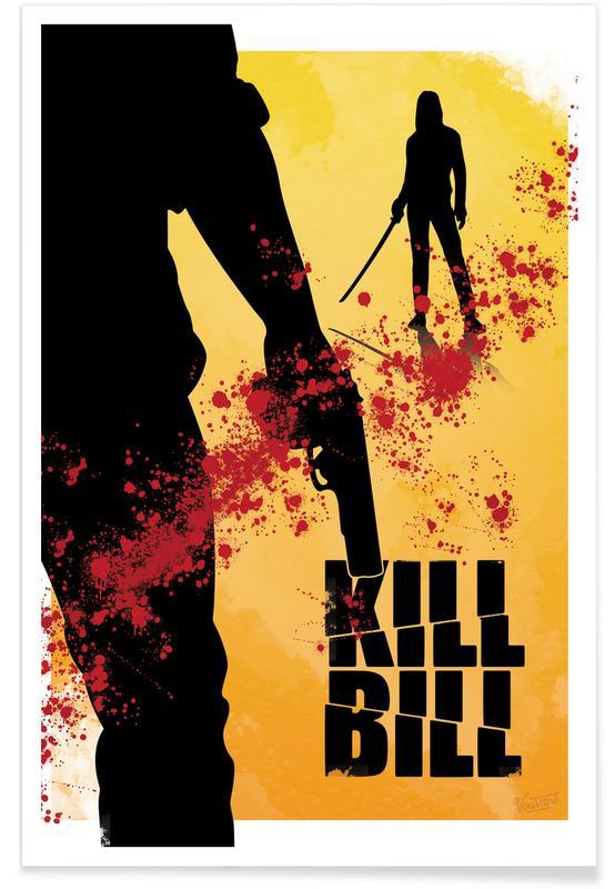 Movies, Kill Bill Movie Poster