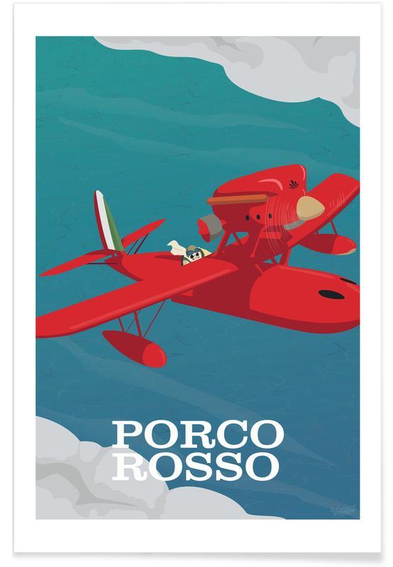 Movies, Porco Rosso Poster