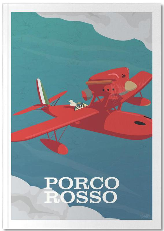 Movies, Porco Rosso Notebook