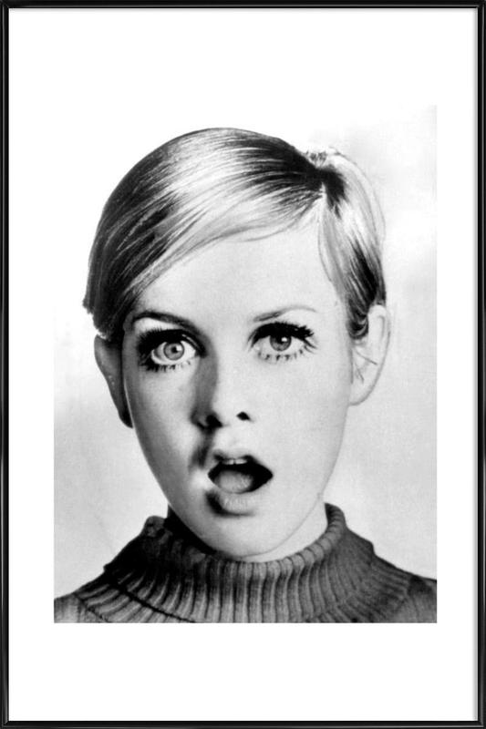 Twiggy, 1966 Framed Poster