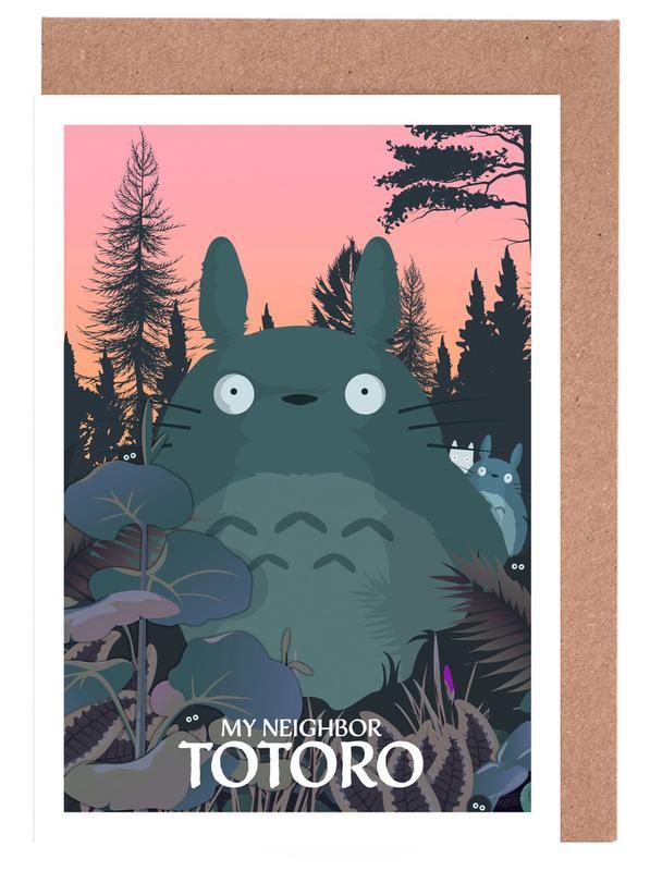 Filme, My Neighbor Totoro -Grußkarten-Set