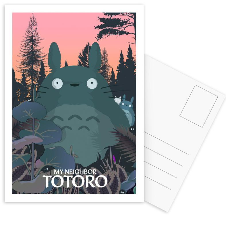 My Neighbor Totoro Postcard Set