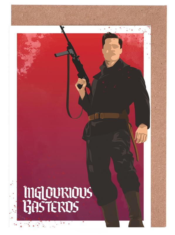 Films, Inglourious Basterds cartes de vœux