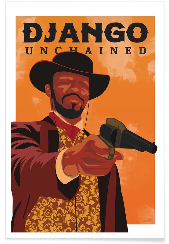 Movies, Django Unchained Poster