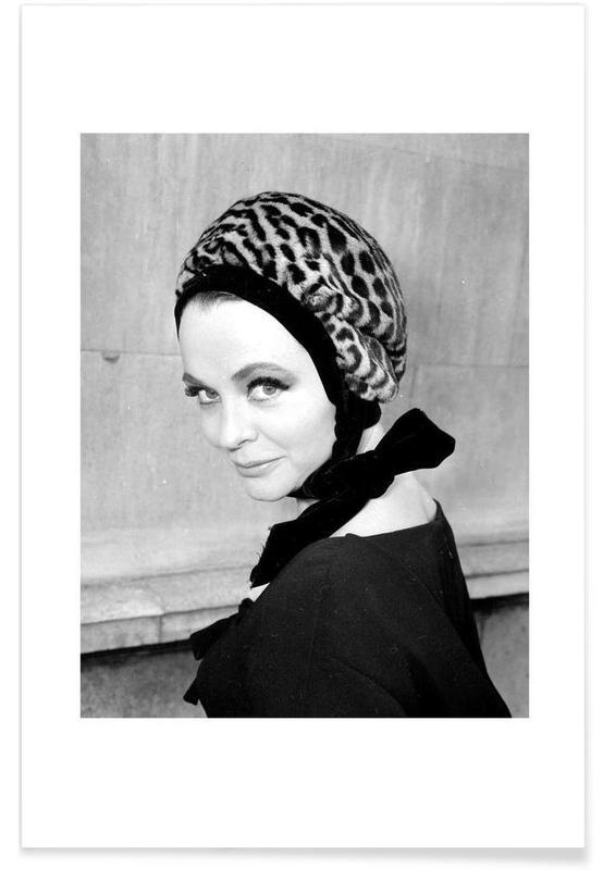 Noir & blanc, Vintage, Tania Edye, 1962 - Photographie vintage affiche