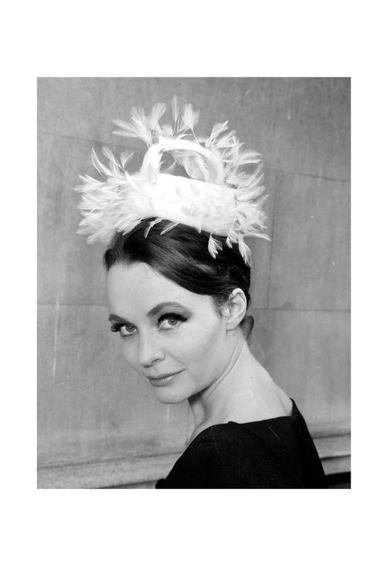 Tania eyde in cocktail hat, 1962 Acrylic Print