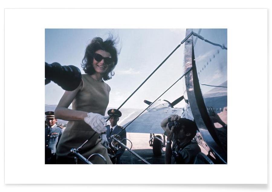 Vintage, Personnages politiques, Jackie Kennedy, 1962 - Photographie affiche