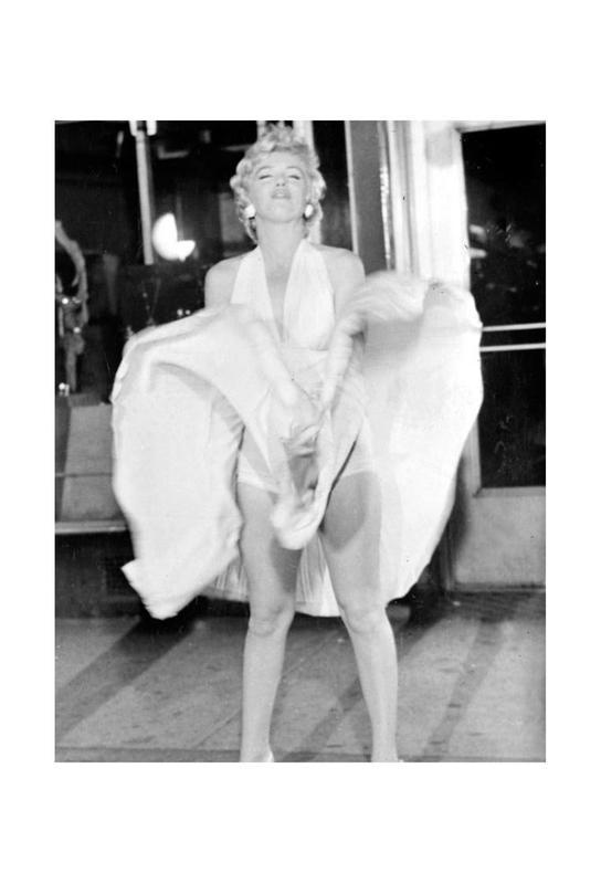 Marilyn Monroe, 1954 Seven Year Itch Acrylic Print