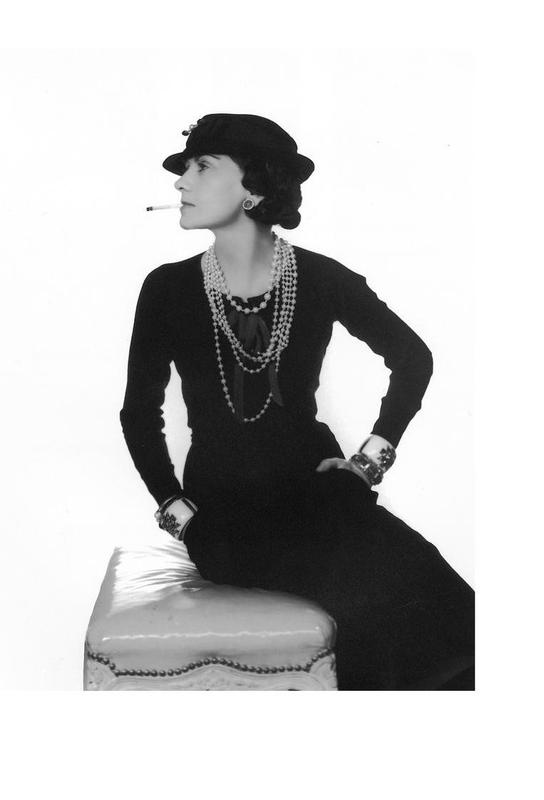 Coco Chanel, 1972 Acrylic Print