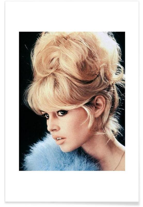 Brigitte Bardot, Vintage, Brigitte Bardot, 1956 affiche