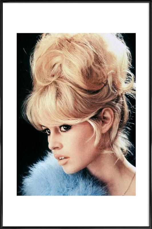 Brigitte Bardot, 1956 -Bild mit Kunststoffrahmen