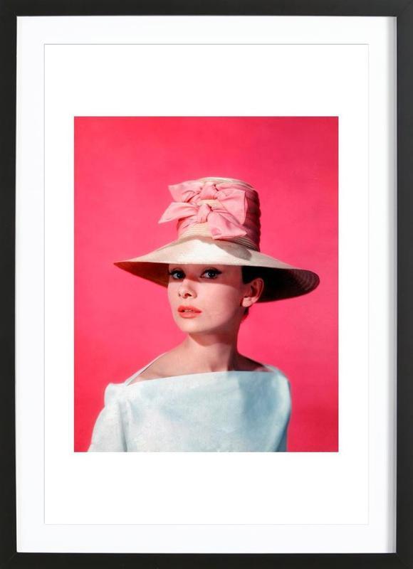 Audrey Hepburn in Funny Face, 1957 ingelijste print