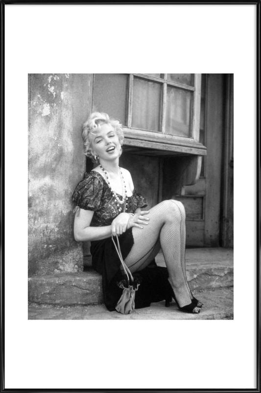 Marilyn Monroe in Bus Stop Framed Poster