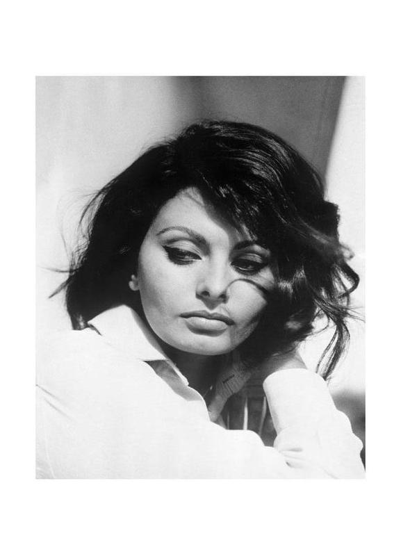 Sofia Loren, 1969 -Leinwandbild