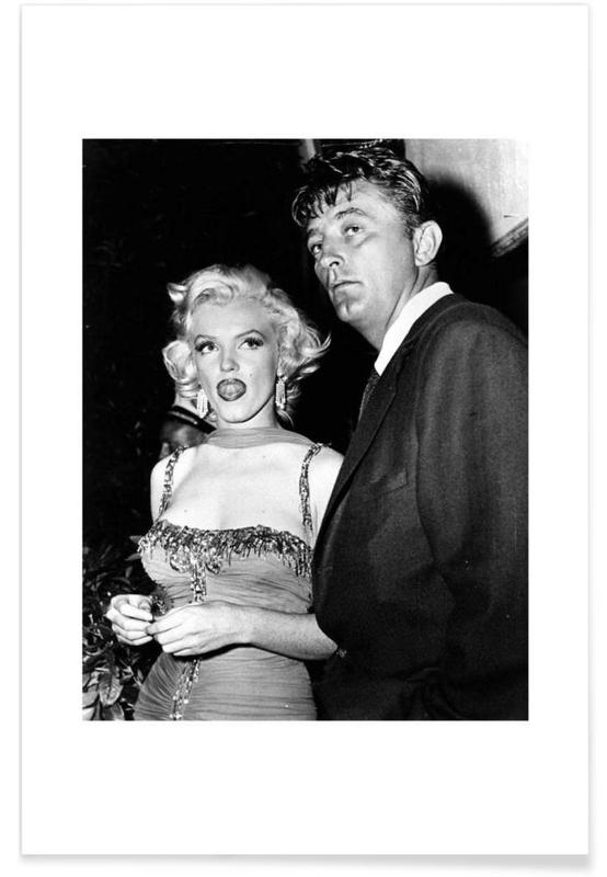 Marilyn Monroe and Robert Mitchum, 1953 poster