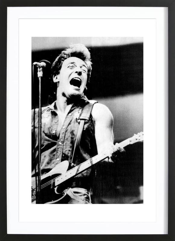 Bruce Springsteen, 1985 Framed Print