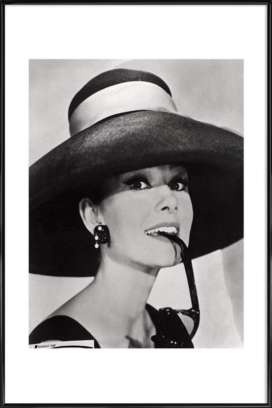 Audrey Hepburn ingelijste poster