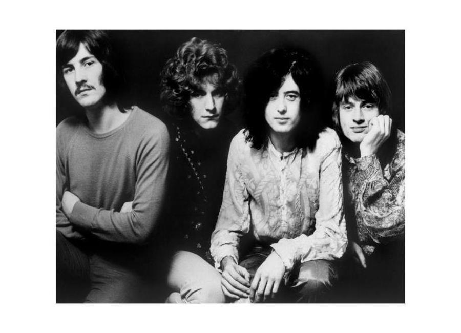 Led Zeppelin canvas doek