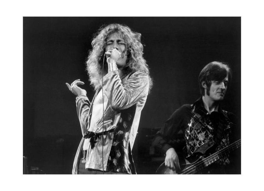 Led Zeppelin, Robert Plant Canvas Print