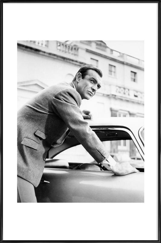 Sean Connery as James Bond in Goldfinger, 1964 Framed Poster