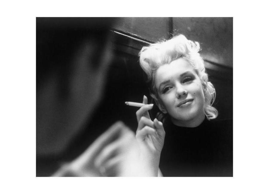Marilyn Monroe in New York, 1955 Canvas Print