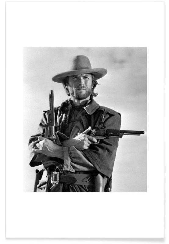 The Outlaw Josey Wales, 1975 Photograph Poster