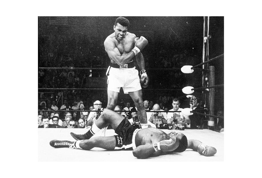 Muhammad Ali rematch with Sonny Liston, 1965 Acrylic Print