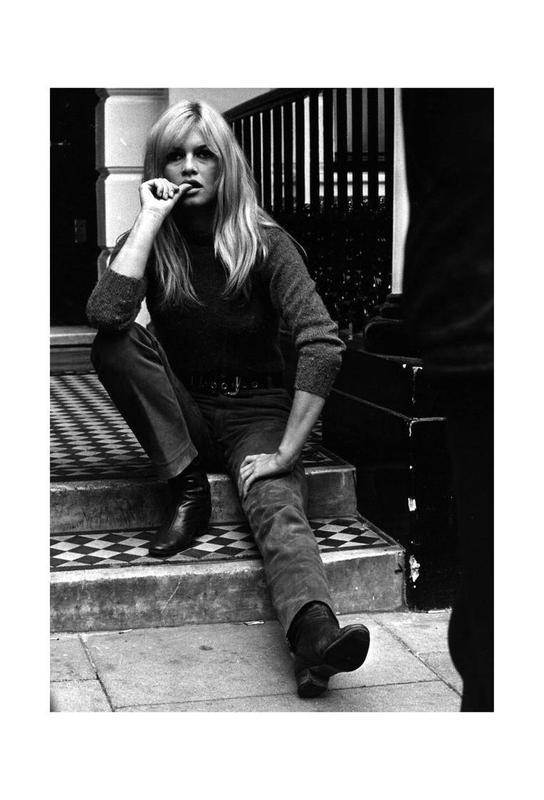 Brigitte Bardot, 1966 Acrylic Print