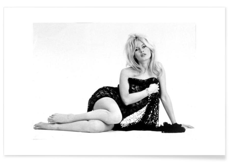 Sort & hvidt, Brigitte Bardot, Brigitte Bardot Plakat
